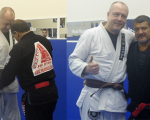 James Speight received his Brown Belt from Luiz Palhares