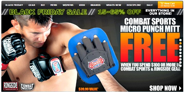 Black Friday Sale 15% to 65% Off on what you need to train.