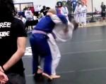 Cool Throw Pulled off at a Brazilian Jiu-jitsu Tournament