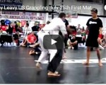 Timothy Leavy July  25th US Grappling Event. First Match.