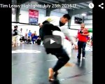 Timothy Leavy  July  25th US Grappling Event.  Highlights.