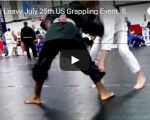 Timothy Leavy July  25th US Grappling Event. Second Match.