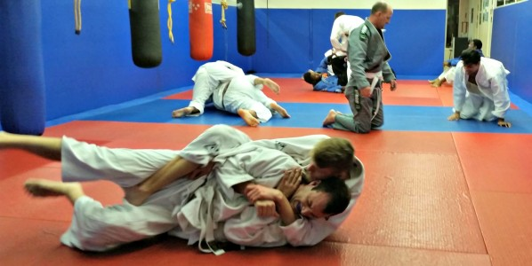 Great Training Thursday Night Mats Was Full