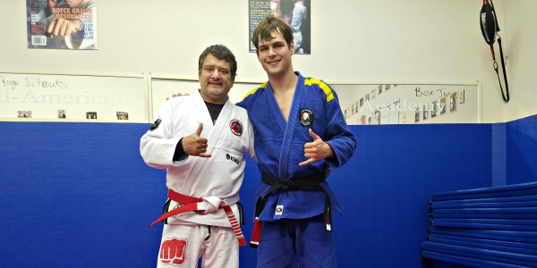 Jay Speight Black Belt Gracie Jiu-jitsu Under Luiz Palhares