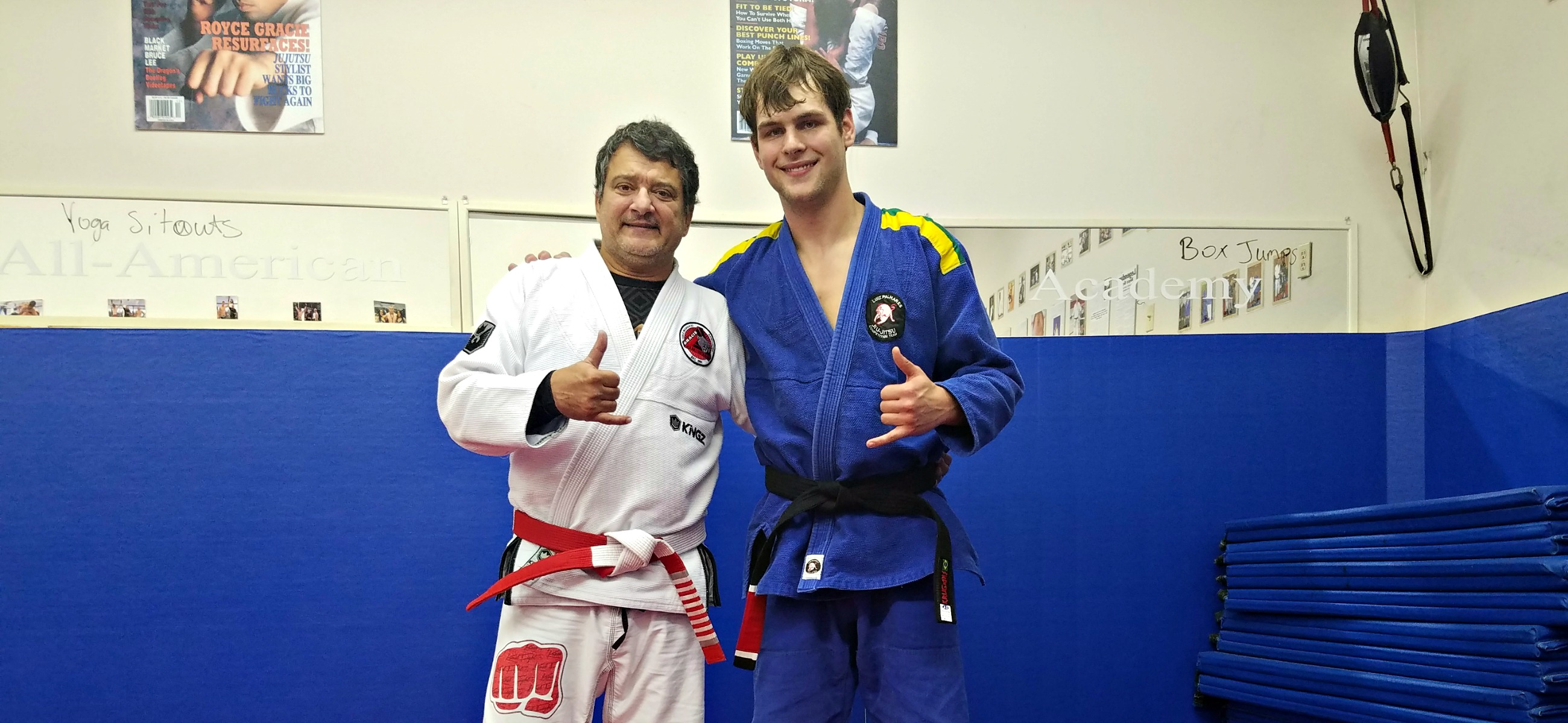 Jay Speight Black Belt