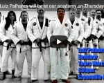Master Luiz Palhares will be at our academy on Thursday March 22nd at 630pm