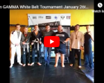 Team GAMMA White Belt Tournament  January 26th 2019  All Matches